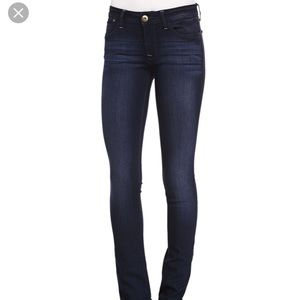 DL1961 Grace High Waisted Straight Leg Jeans